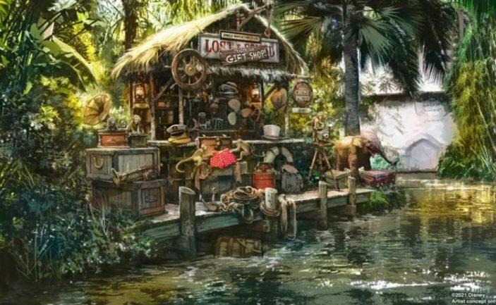 Jungle cruise update