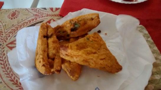 home cooking : bread pakora