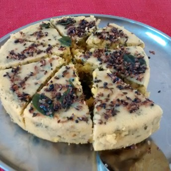 home cooking : dhokla