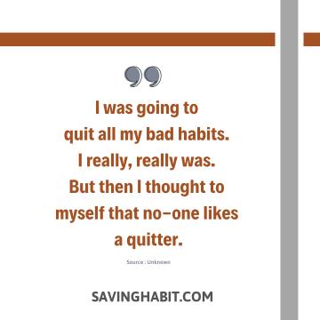 Habit Quote
