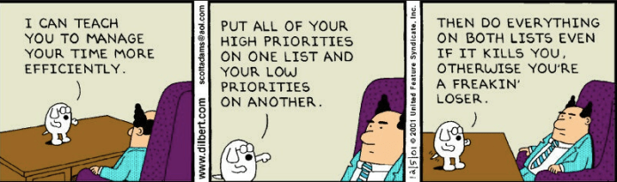Dilbert time management