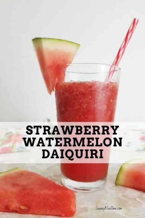 Strawberry Watermelon Daiquiri