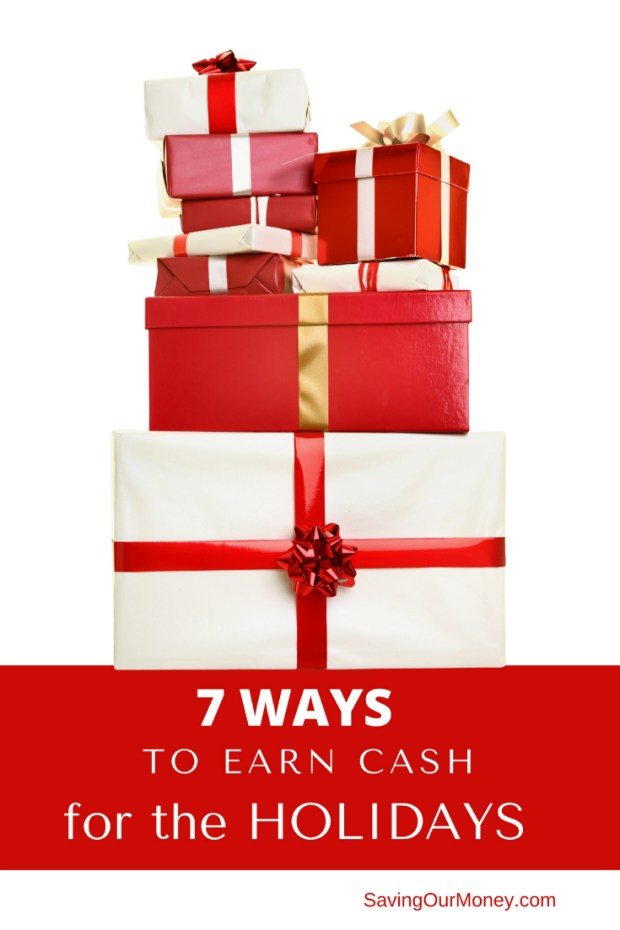 If you want to avoid debt this holiday season and pay cash for your holiday gifts, this list of 7 ways to make extra cash for the holidays will help you.