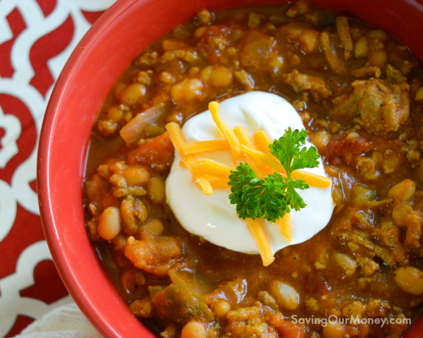 Pumpkin crock pot chili recipe