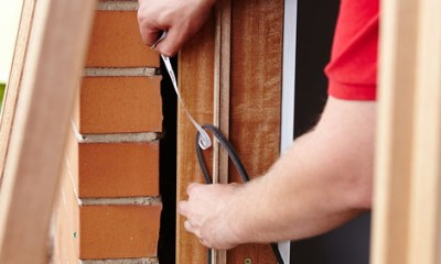Over time, the weather stripping around your exterior doors breaks down, cracks and causes gaps where a lot of heat can escape. Weather stripping should be replaced every two years and is a quick, easy task .