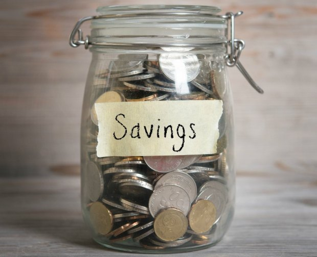 A savings jar can be a great visual demonstration to show your kids just how much money that the use of coupons can save you.