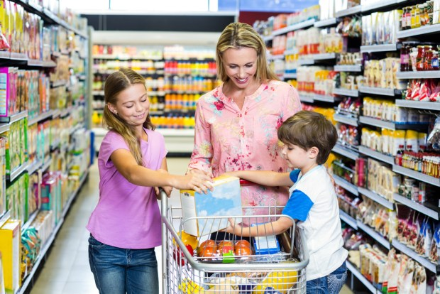 Teaching your kids how to use coupons is a great way to teach them about saving money.