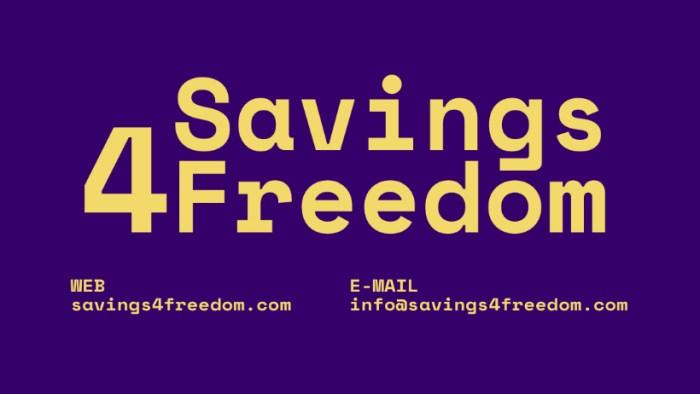 Investe @ Savings4Freedom