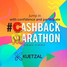 Kuetzal Summer Cashback @ Savings4Freedom