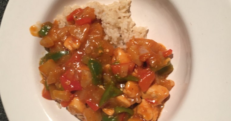 Family Fakeaway: Cheap and Healthy Sweet & Sour Chicken