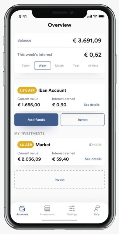 iBAN Wallet App @ Savings4Freedom
