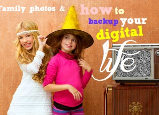 Family photos and how to back up your digital life