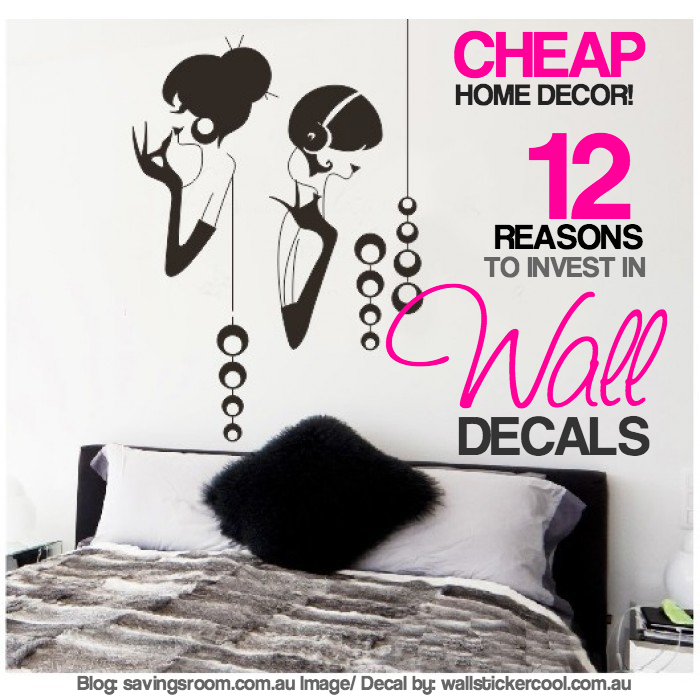 Cheap home decor | 12 reasons to invest in wall decals