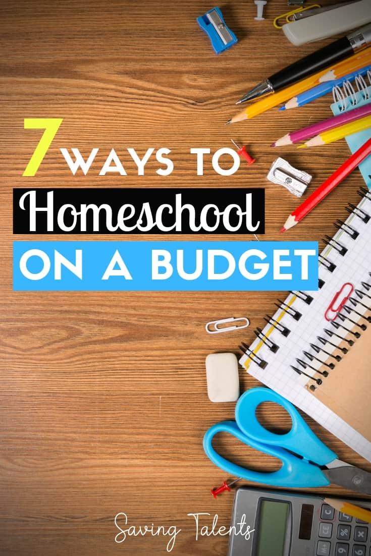 Homeschool on a budget