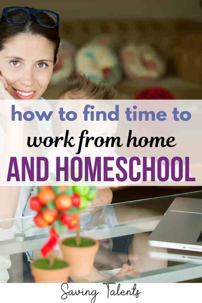 How To Find Time To Blog and Homeschool