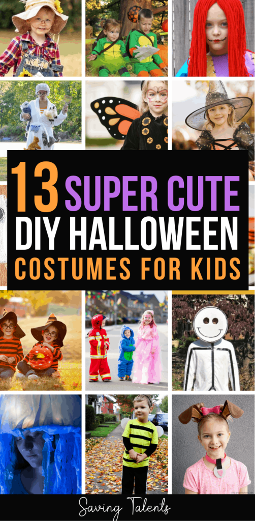 13 Adorable Last-Minute & DIY Halloween Costumes for Kids