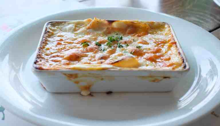 Chicken Vegetable Lasagna with Homemade Cheese Sauce