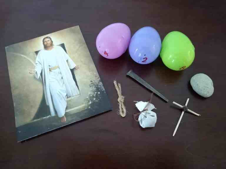 Christ Centered Easter Egg Hunt – Focus on Jesus