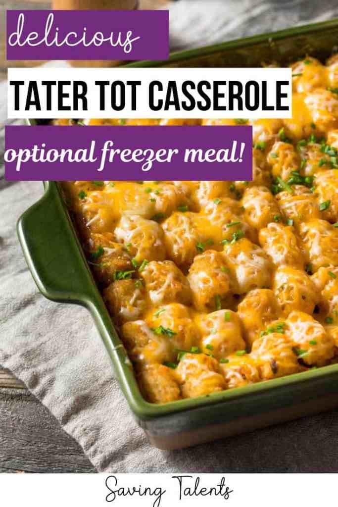 Easy Tater Tot Casserole