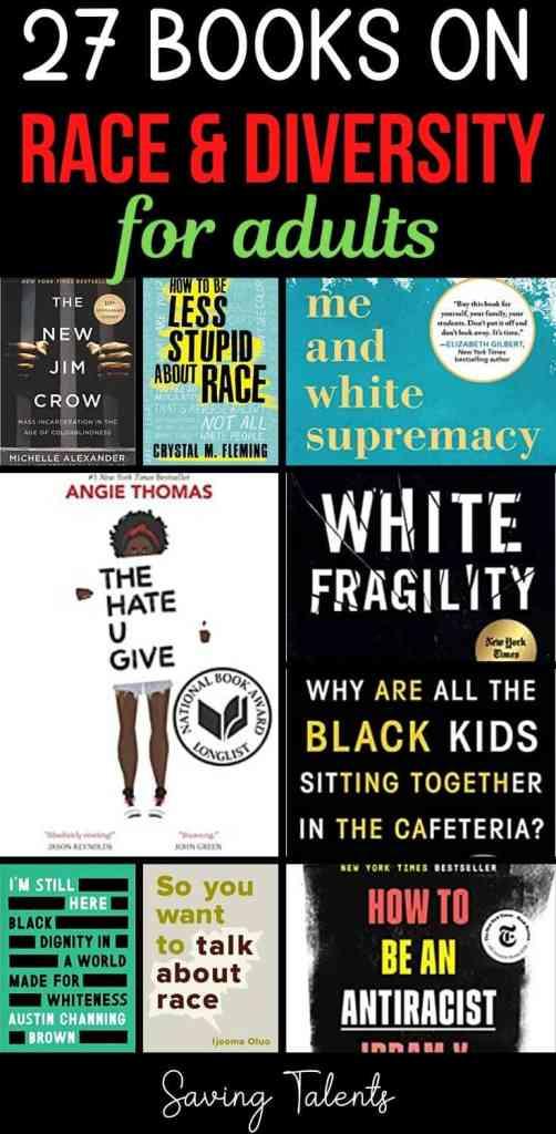 adult books racism diversity