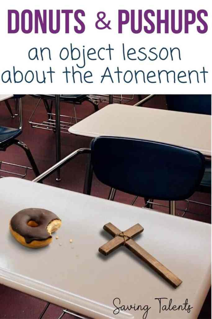 Atonement object lesson pin
