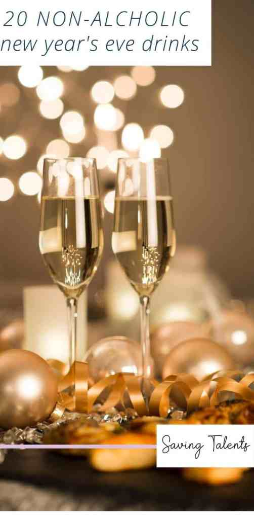 20 New Years Non-Alcoholic Drinks