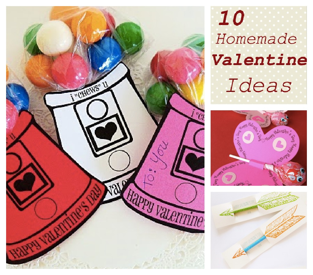 10 Fun And Easy Homemade Valentines For Kids Saving The