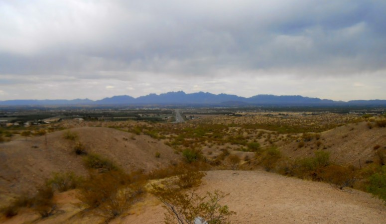 View over Las Cruces, New Mexico