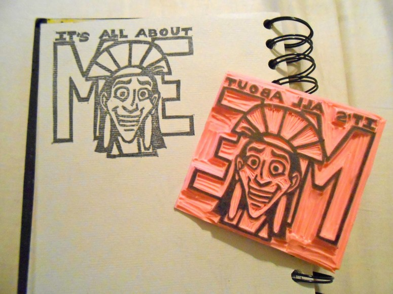 A Letterboxing Post: Stamp Carving 101
