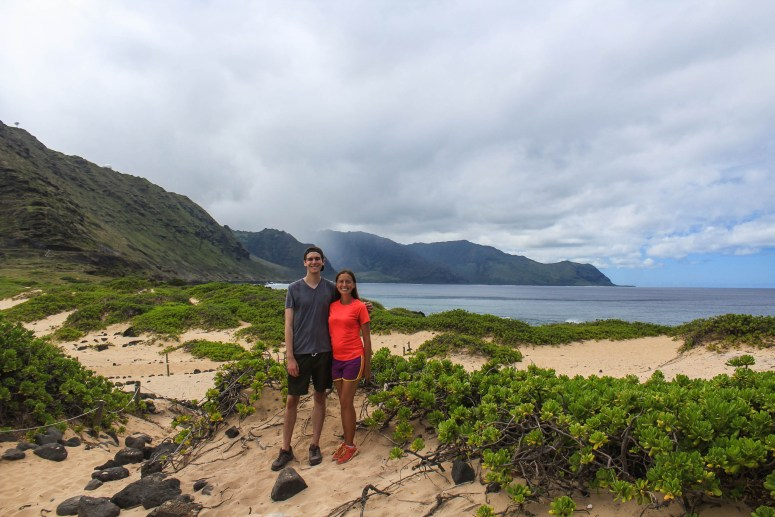 Oahu With My Brother
