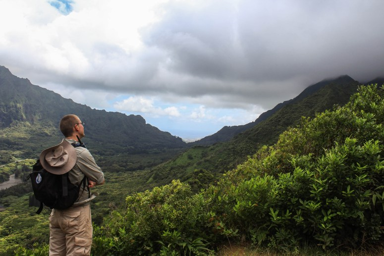 View of K2 from the Nu'uanu overlook