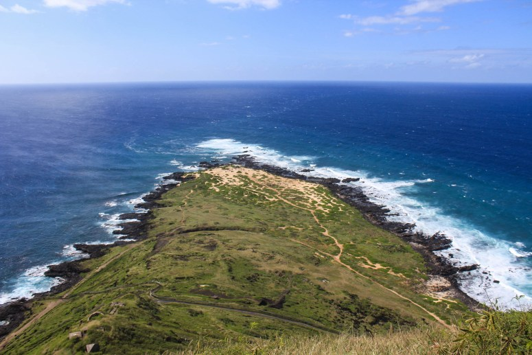 View of Kaena Point from Kaena Point Pillboxes