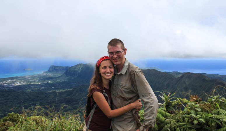 Hawaiian Hiking Couple