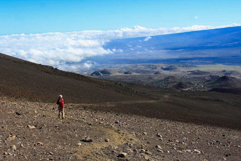 Views from Hiking Mauna Kea Big Island Hawaii