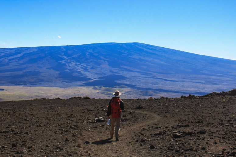 Hiking Mauna Kea on the Big Island of Hawaii in December