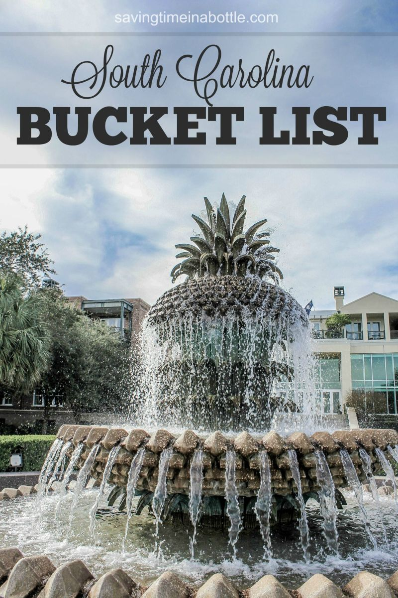 South Carolina Bucket List