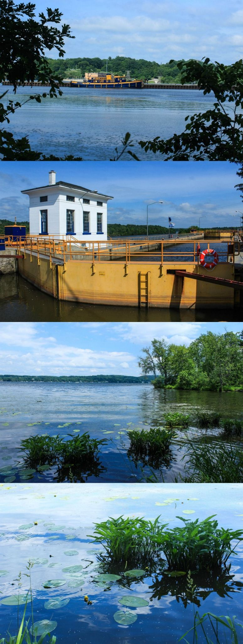 Exploring the Capitol Region of New York: Erie Canal, Saratoga Lake, and Hiking Buck Mountain.