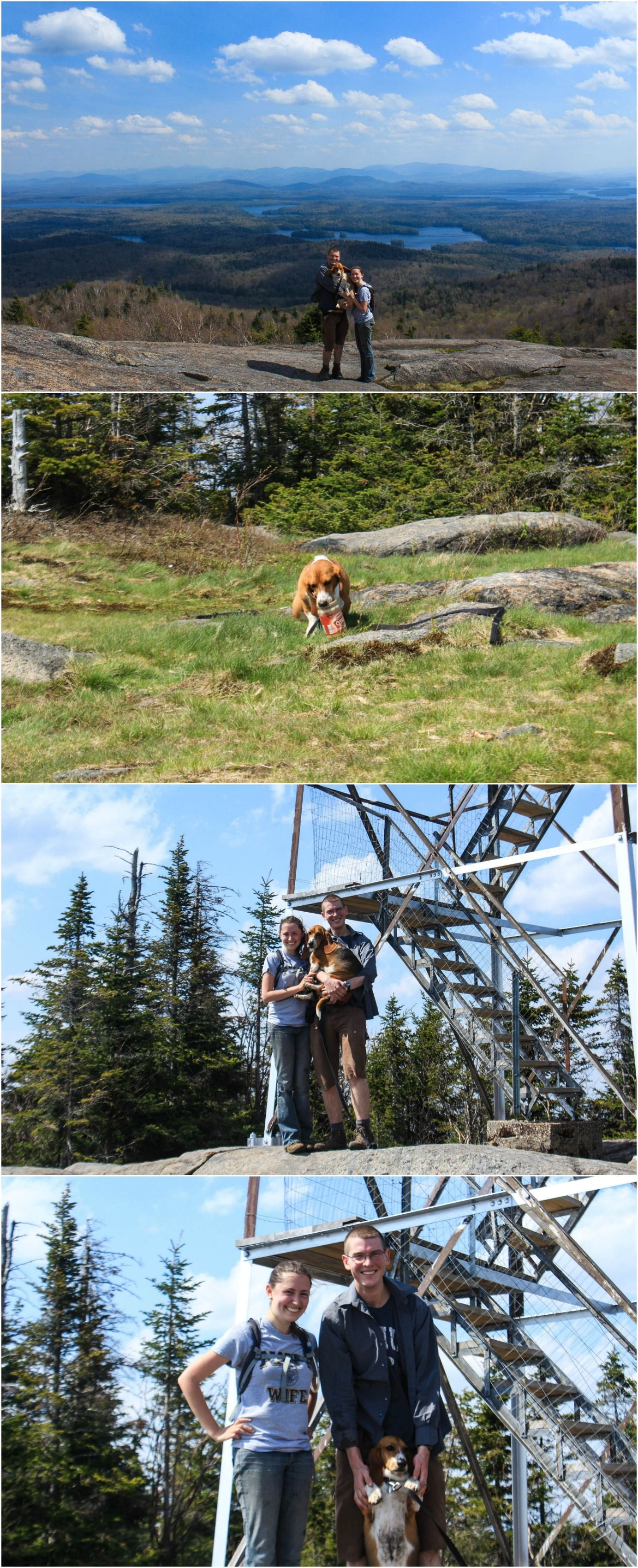 St  Regis Mountain Fire Tower   Saving Time in a Bottle