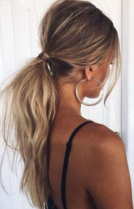 Horsetail: Hairstyle that can be used 7 days a week - 1