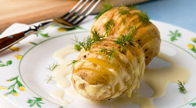Cartofi cu branza in stil rusesc