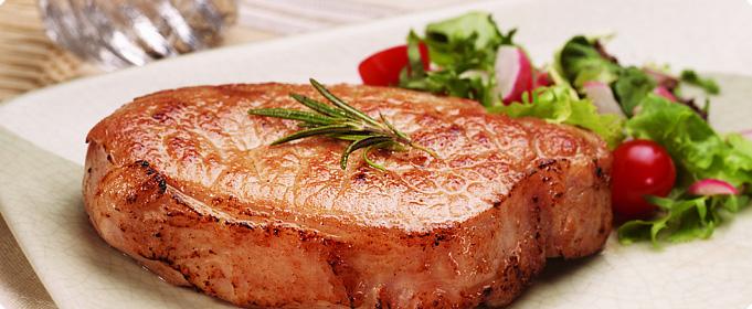 Carne de porc aromată, la tigaie