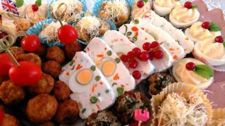 Terină de branza cu oua si legume