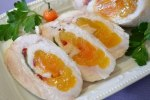 Roll of pork with Dried apricots