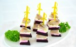 -Appetizer skewers