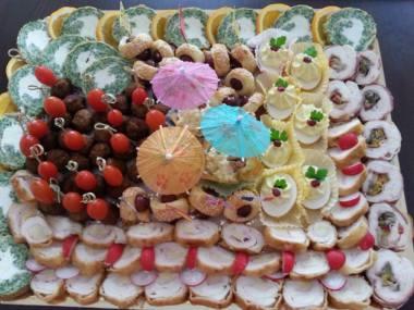 Various antipasti platter