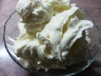 Prajitura cu blat de vanilie si foi pandispan