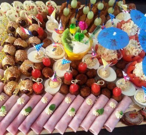 Platou aperitive festive