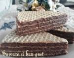 Napolitane cu crema de ciocolata