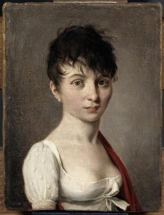 Louis-Léopold Boilly, portrait de madame Arnault deGorse, musée du Louvre.