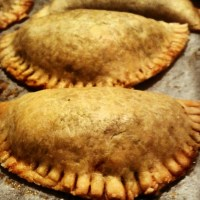 Savory Hand Pies - Vegetable Empanadas with Spicy Sauce